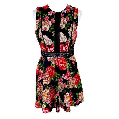 DISNEY PRINCESS Floral Skater Dress