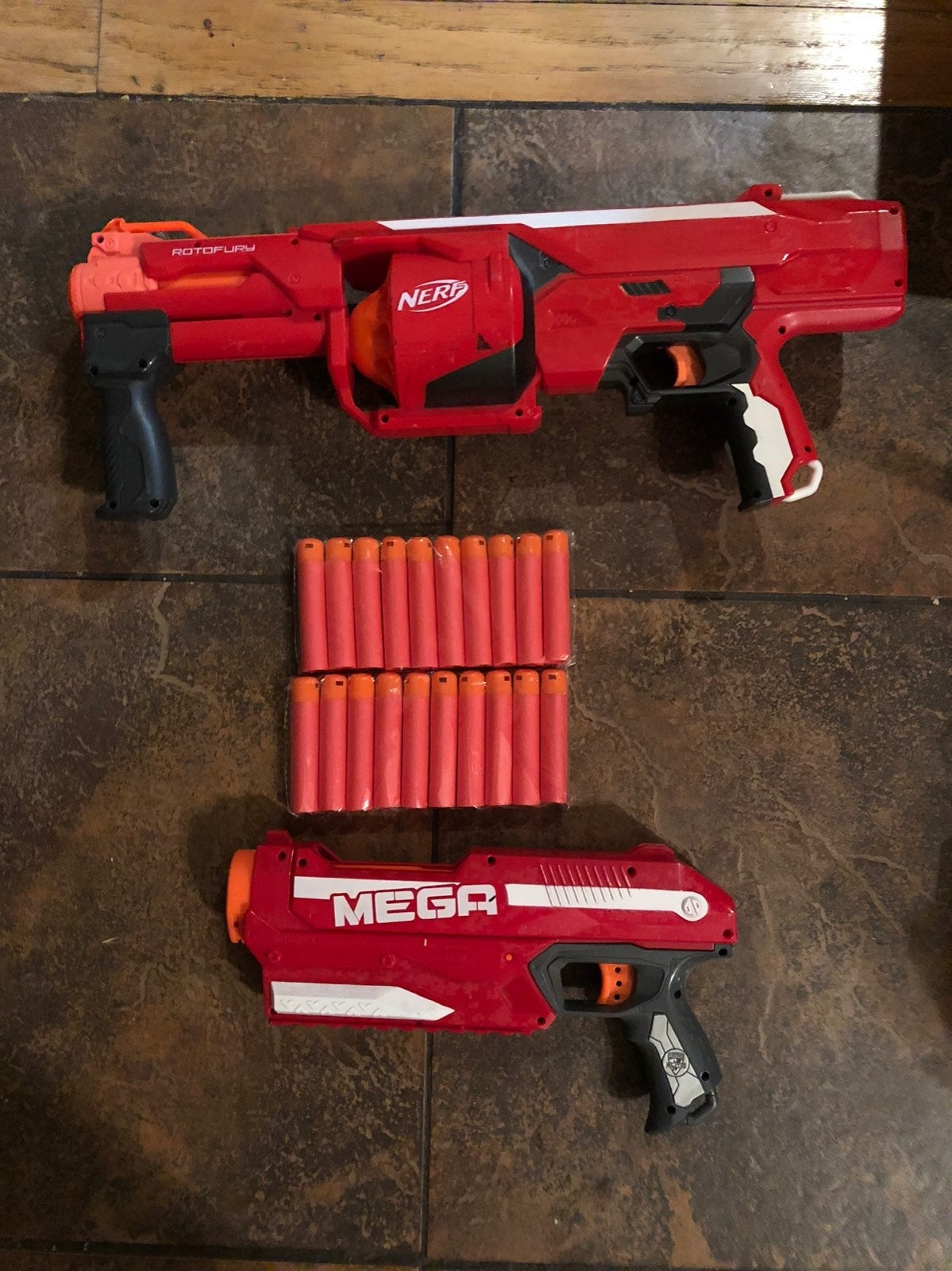 Nerf Mega Rotofire and Magnus $35