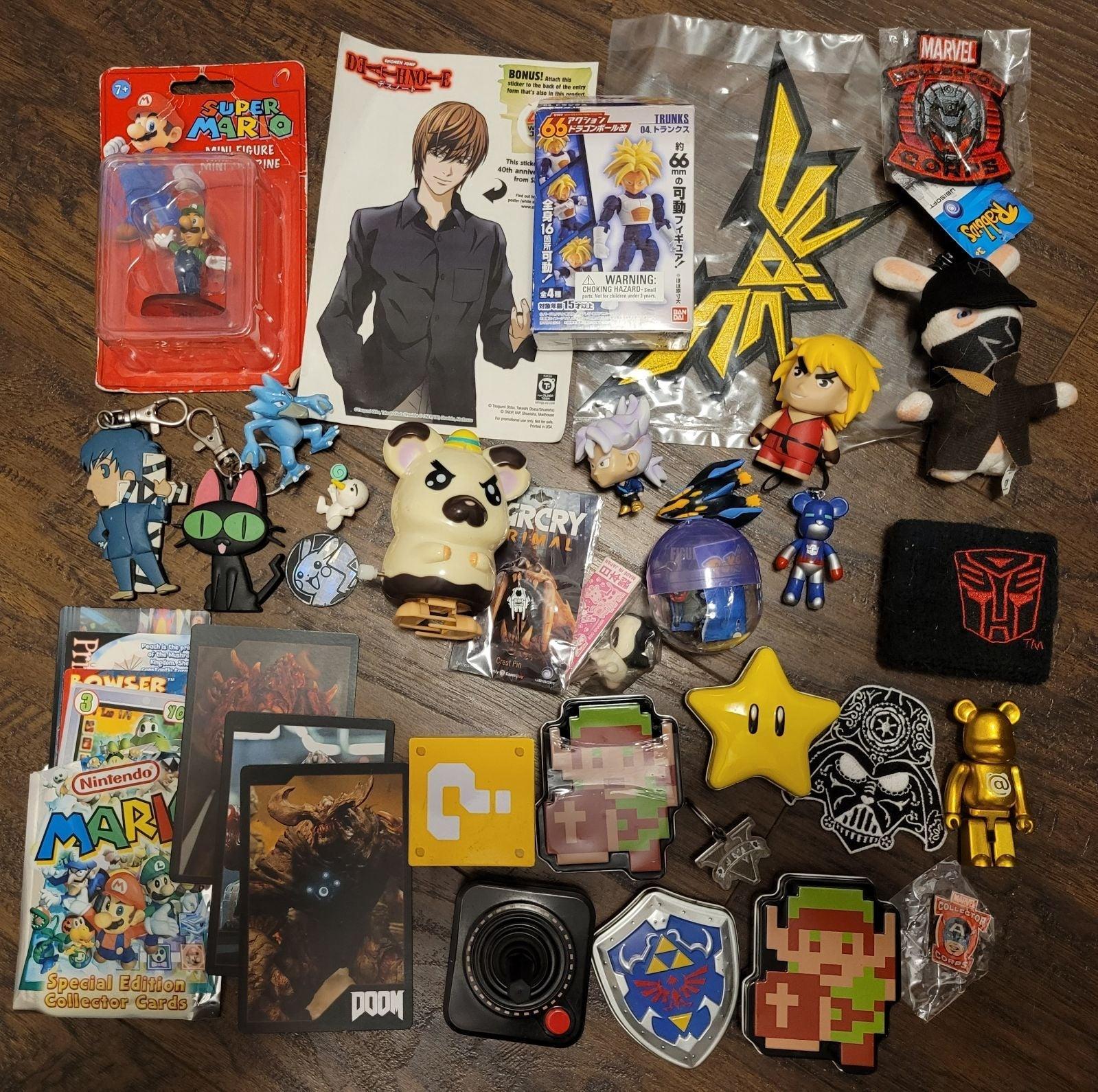 Anime / Videogame Merch Lot