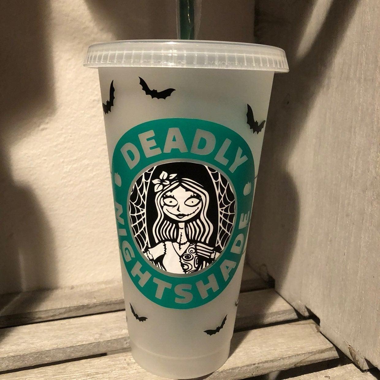 Starbucks Nightmare Before Christmas Cup