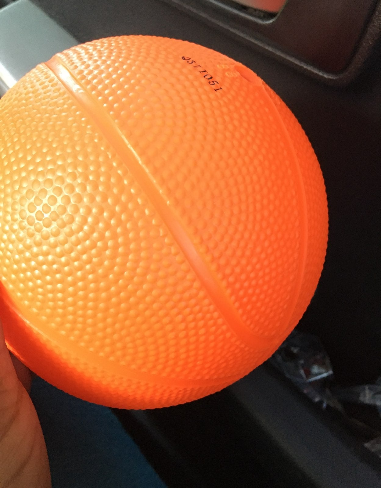 Im selling this orange ball that is new