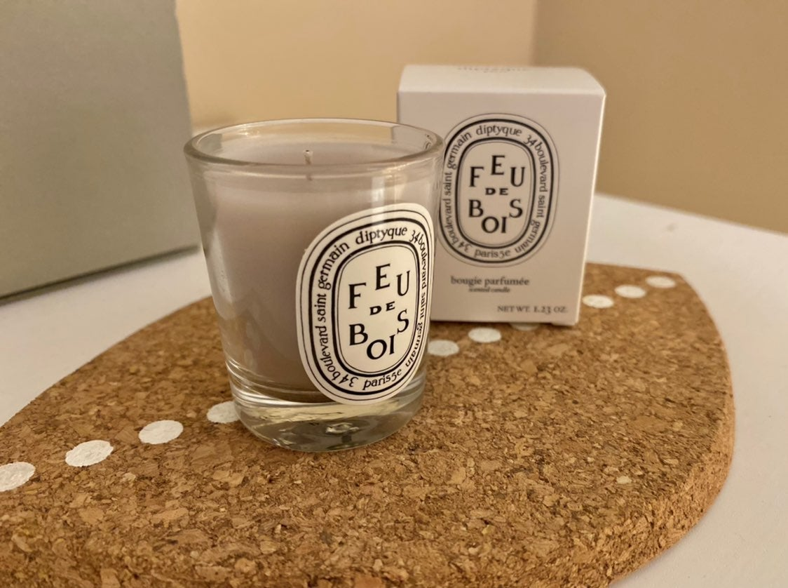Diptyque woodfire candle