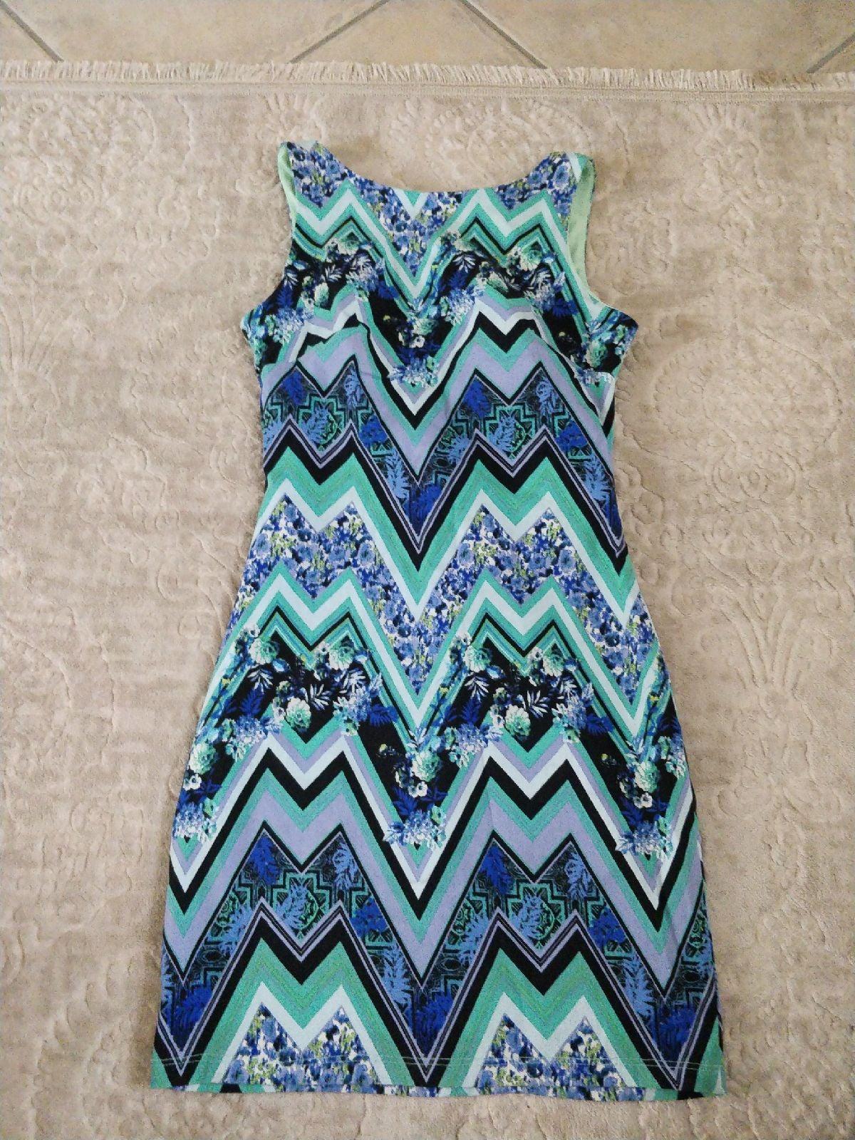 B. Darlin Multicolored Sleeveless Dress