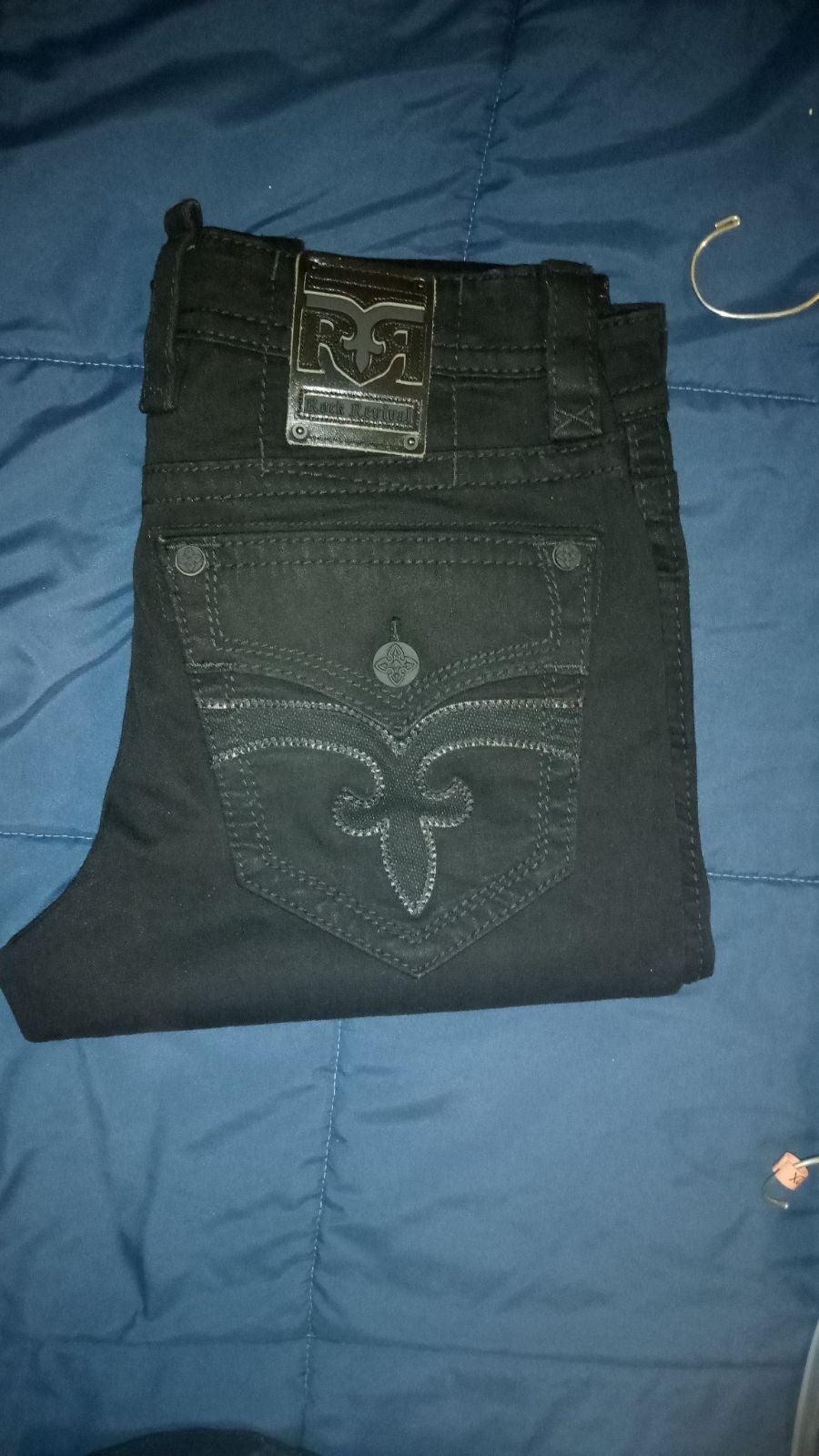 Rock revival jeans size 34 never worn