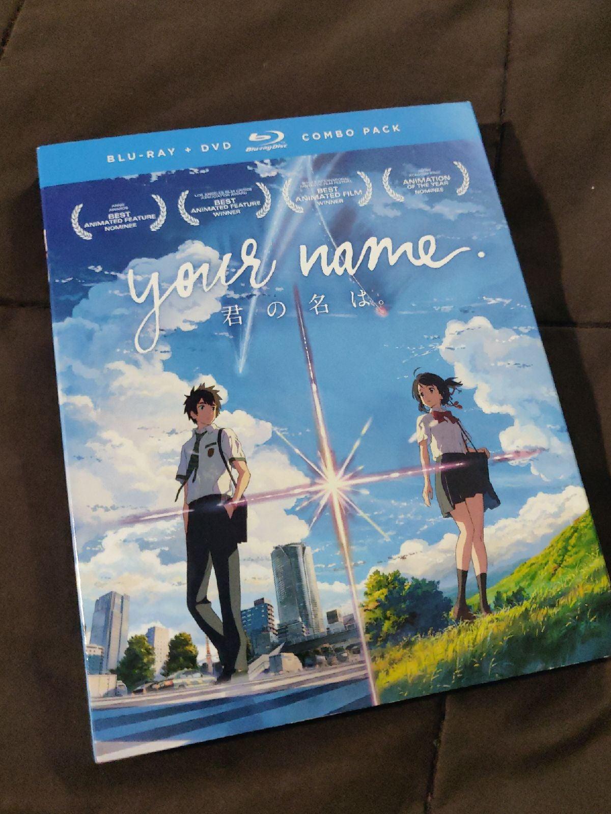 Your Name Blu-Ray