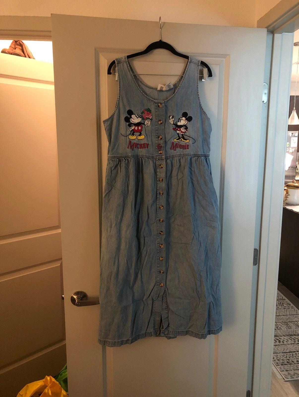 Mickey & Minnie Denim Dress
