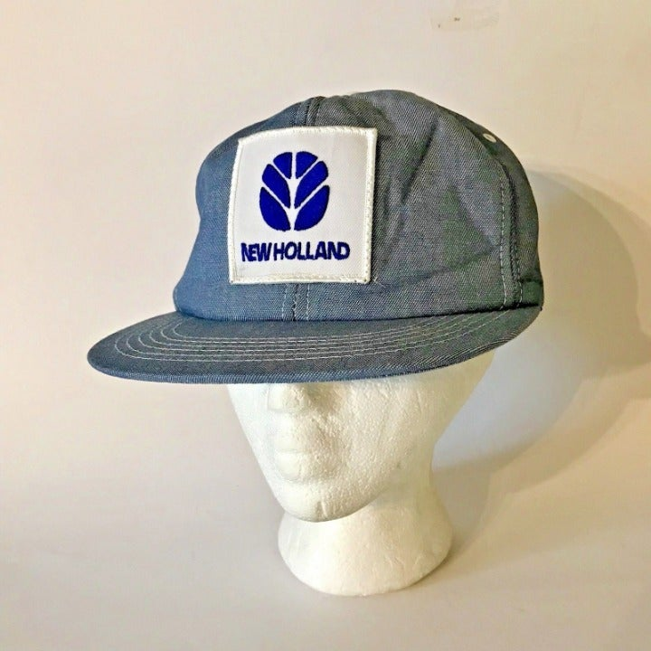Vintage K Products Hat Holland Big Patch