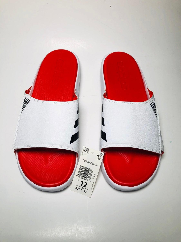 Adidas Questar Men Slide Size 12 F35585