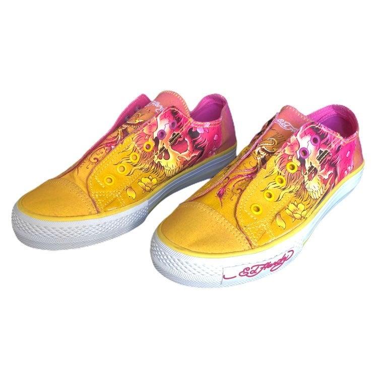 Ed Hardy Womens Slip On Shoes