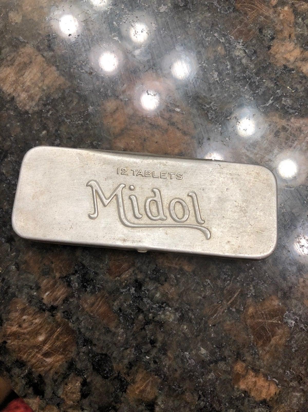 Vintage MIDOL tin