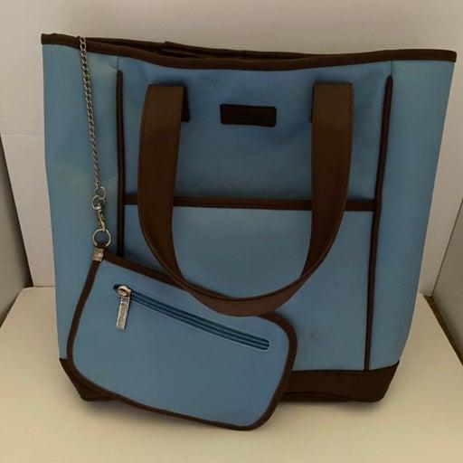Curves Blue Tote Bag