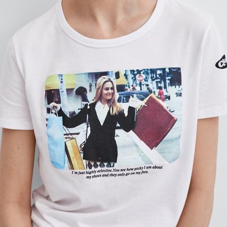 CLUELESS t-shirt Zara