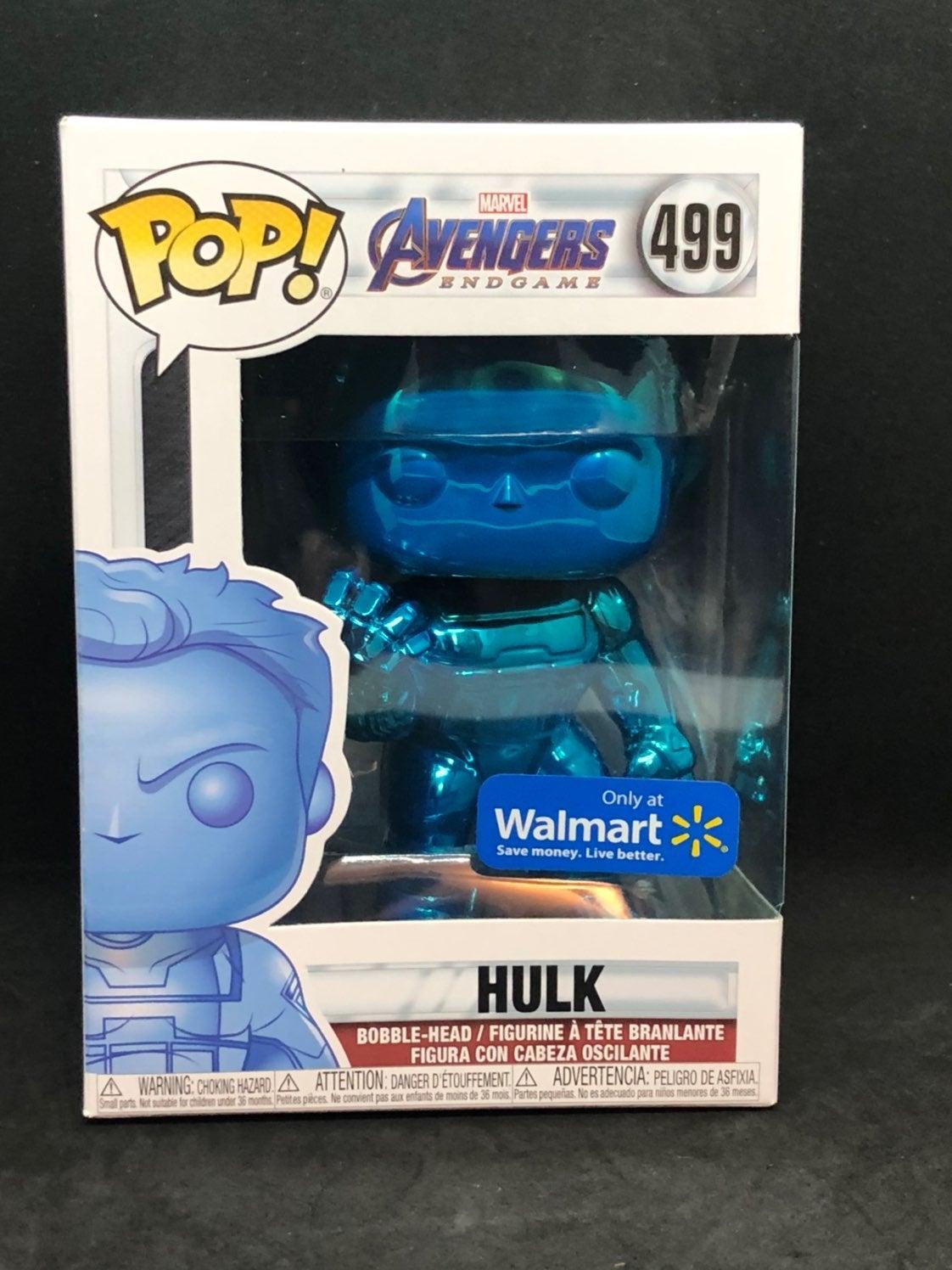 Funko Pop Chrome Blue Hulk Endgame
