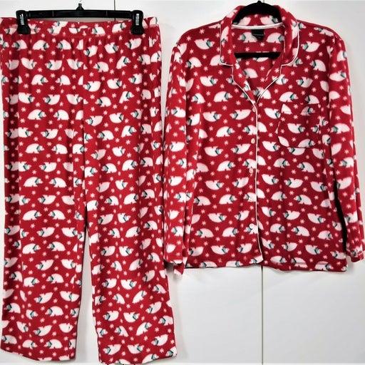 Covington Holiday Womens Pajamas 2-Pc