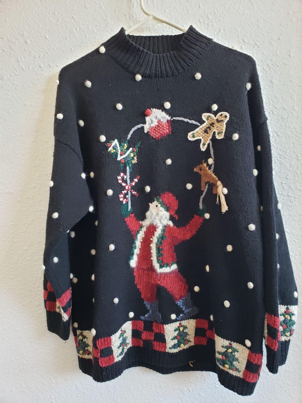Vtg  Christmas Marisa Christina sweater