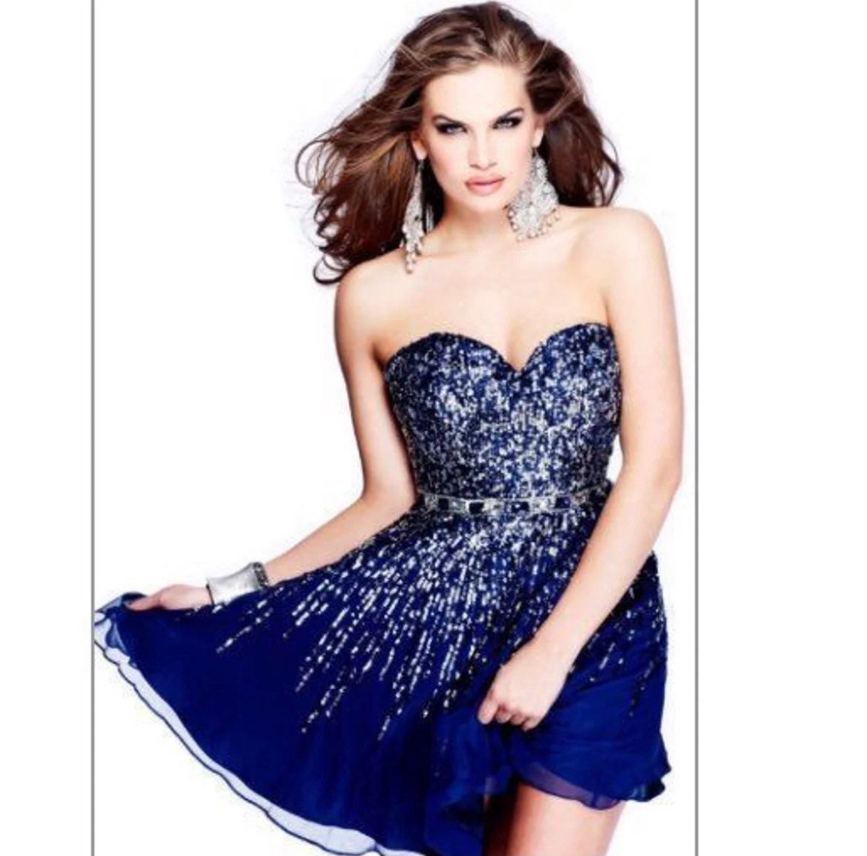 Short Sherri Hill Homecoming Dress