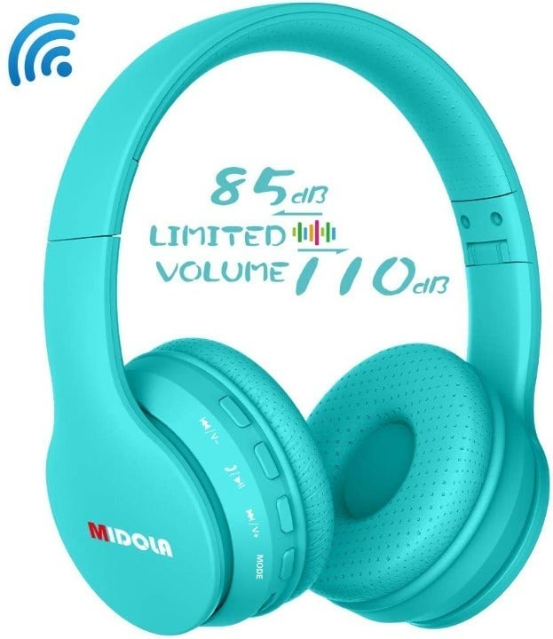 Kids Wireless Headphone - Cyan