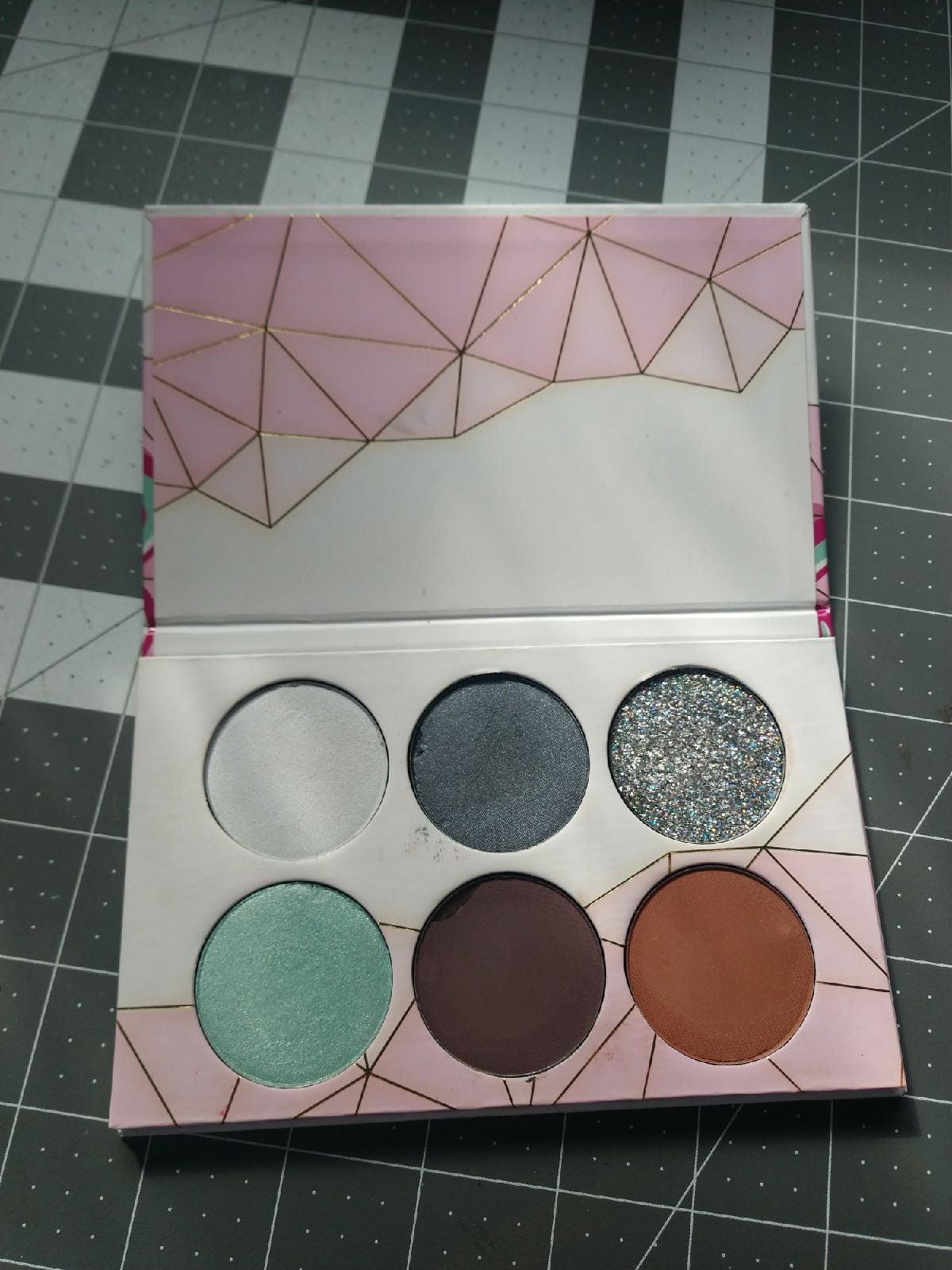 Sugarpill & Givemeglow Custom Eyeshadow