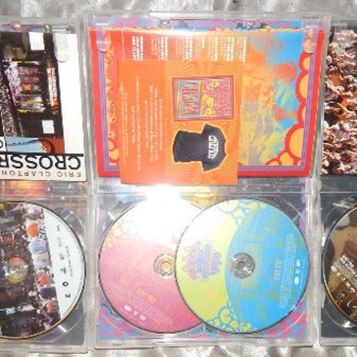 3 clapton cream guitar festival dvds