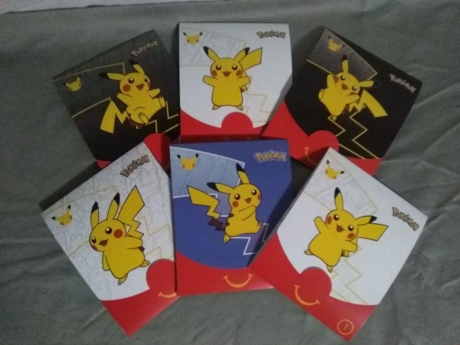x6 McDonald's Pokemon Packs