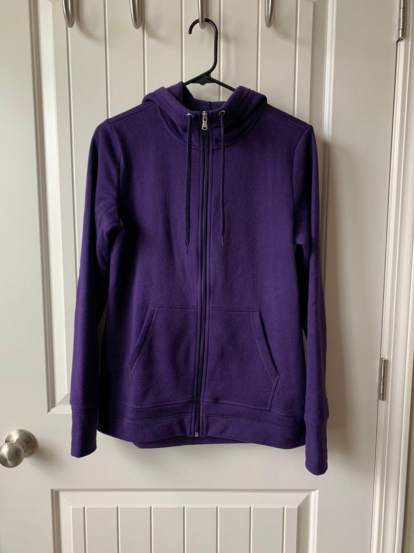 Royal Purple Hoodie, S