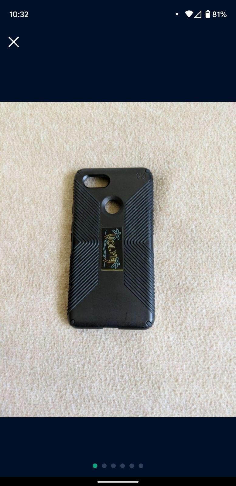 Pixel 3 XL Speck case