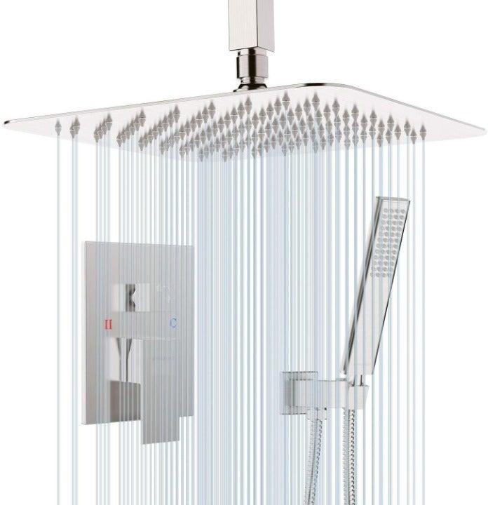 EMBATHER Shower System-Brushed Nickel Ce