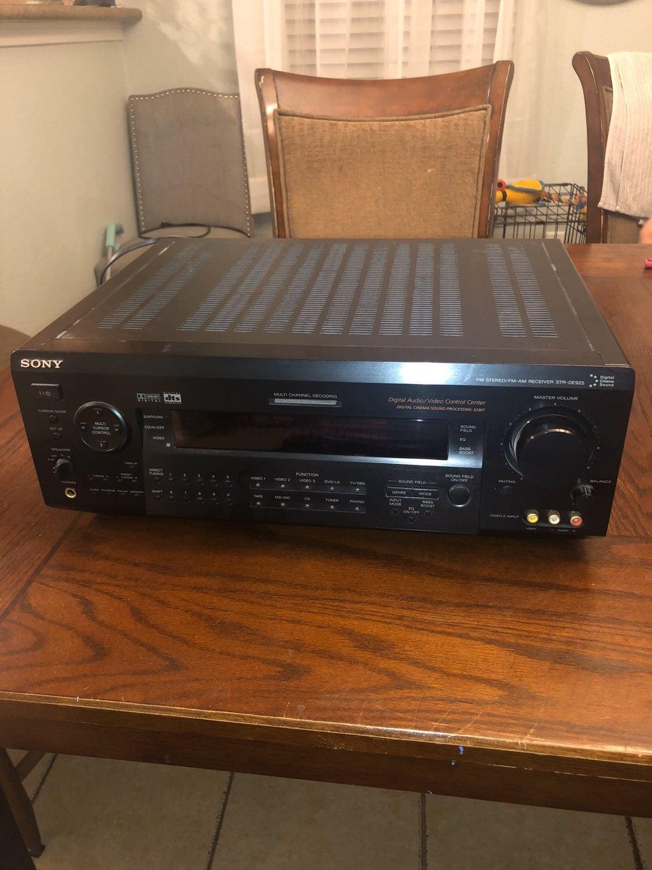 Sony STR DE595 5.1 Channel 500 Watt Rece