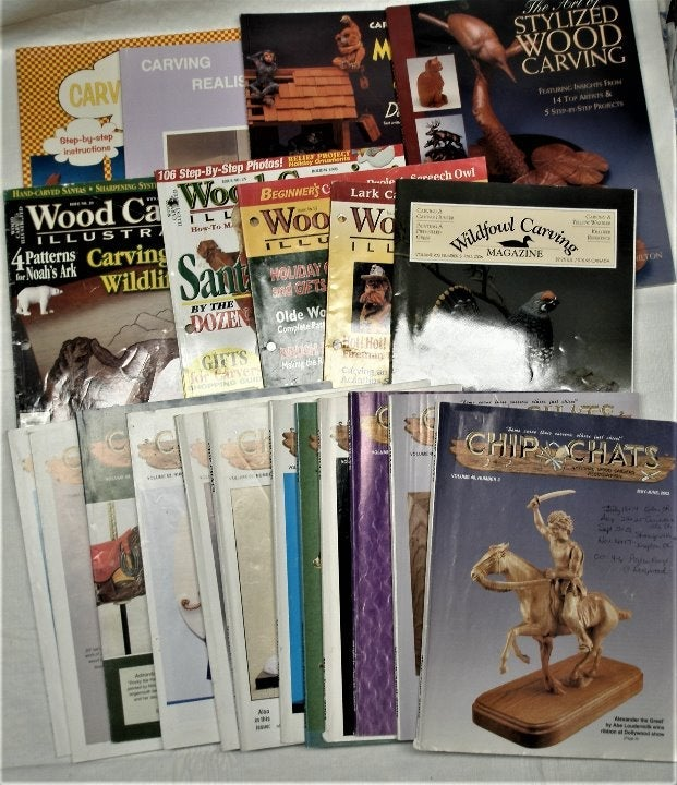 Wood Carving Chip Chats Plus 21 Books Ma