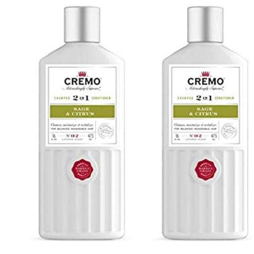 2 CREMO 2 IN 1 SHAMPOO CONDITIONER