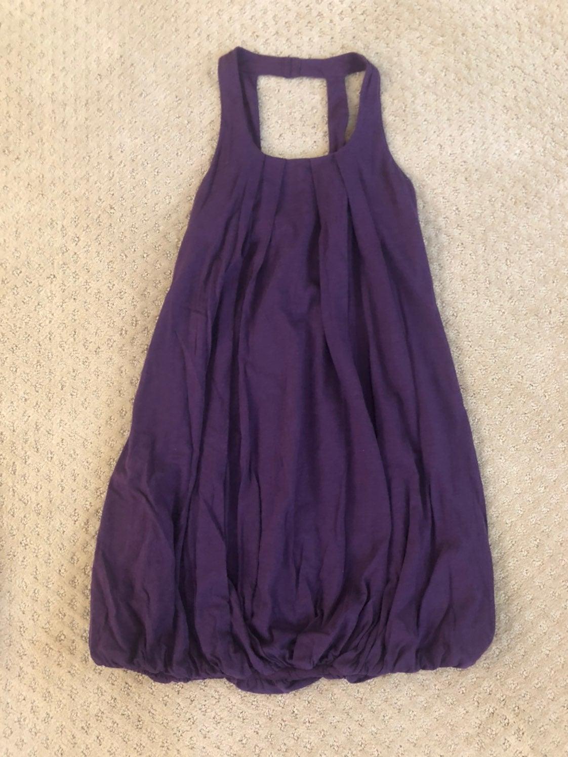Apostrophe purple dress