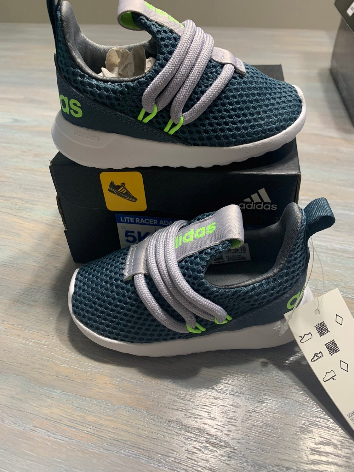 Adidas baby boys shoes new