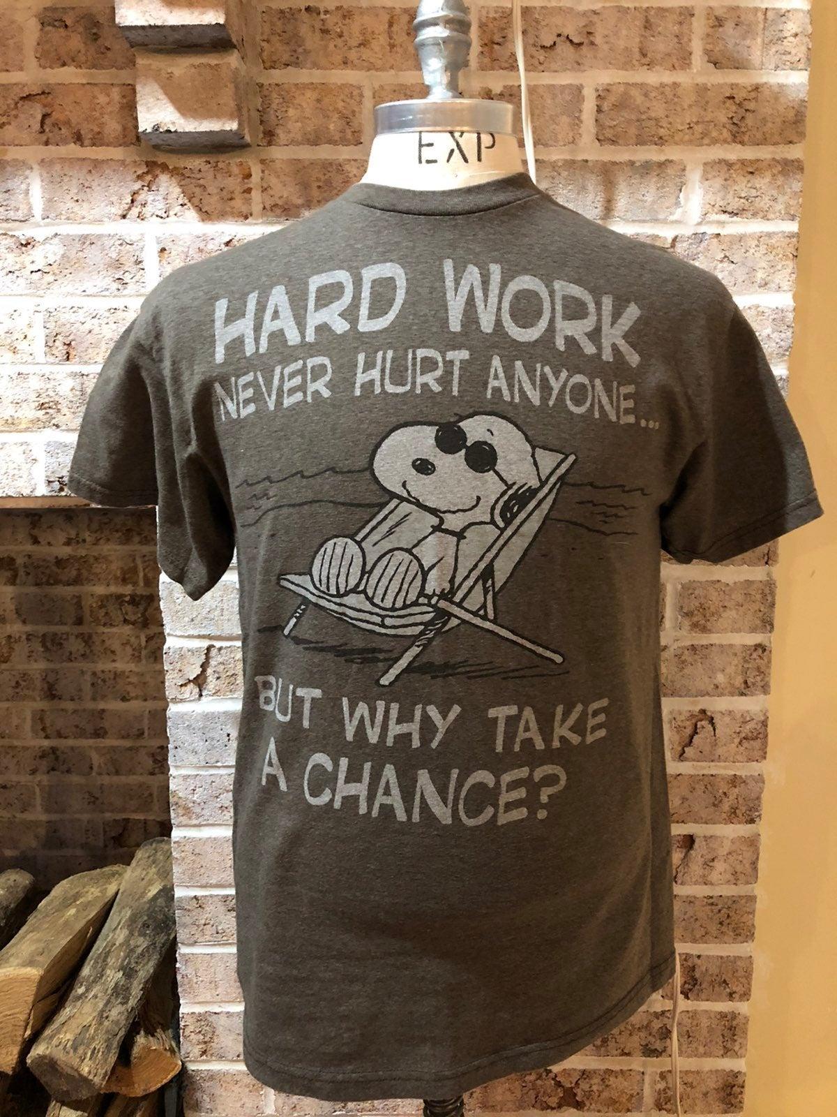 Snoopy Peanuts men's Shirt Large