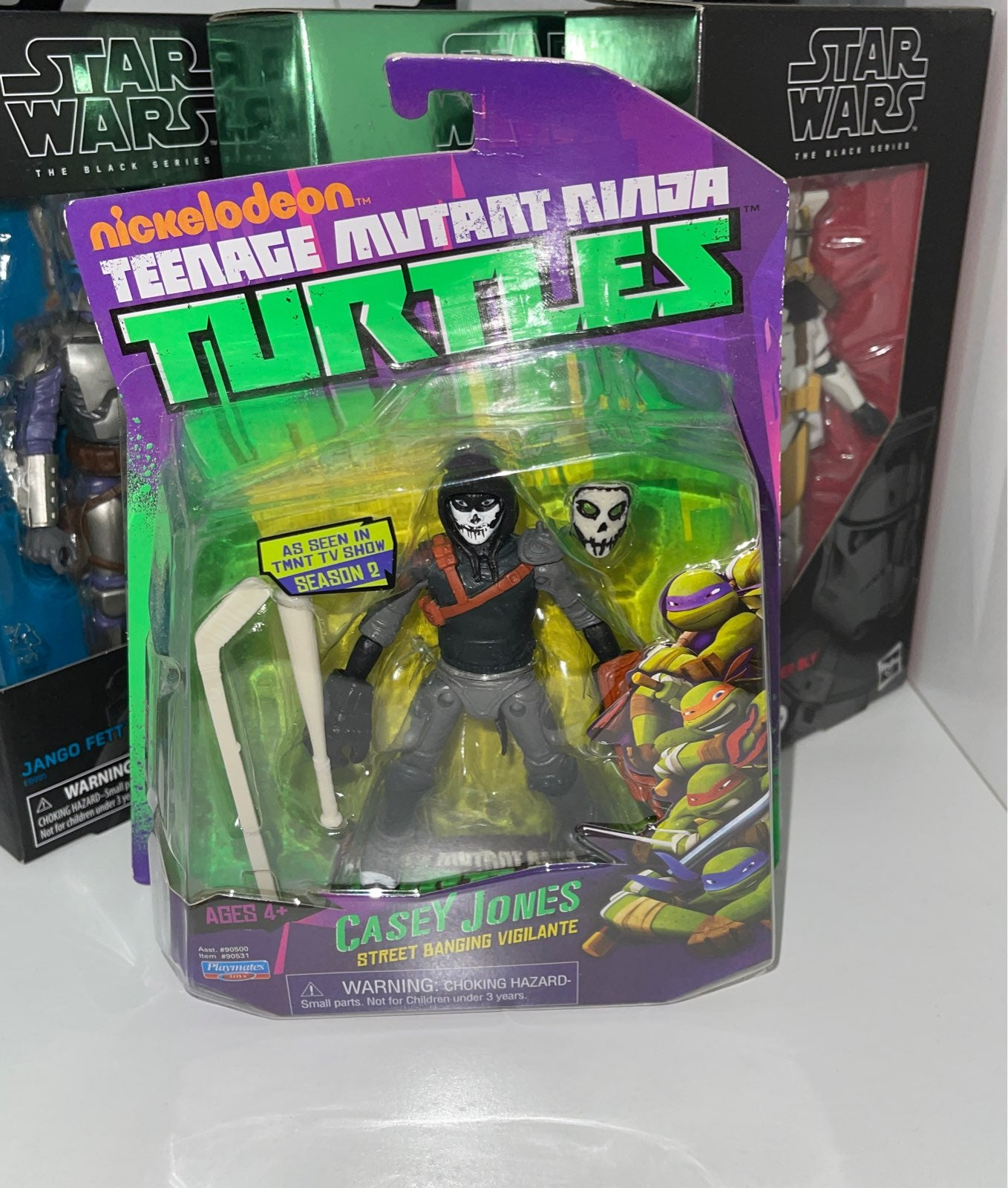 Nickelodeon TMNT Playmates Casey Jones