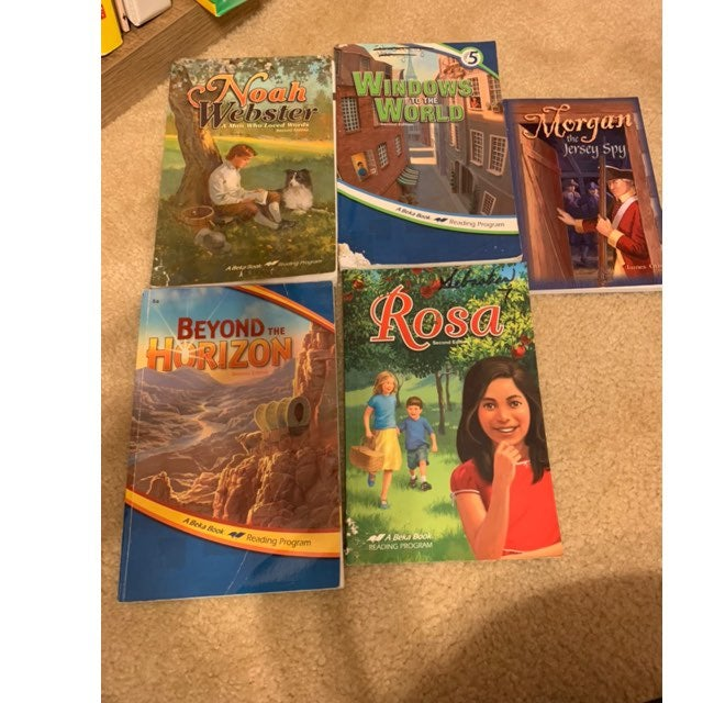 5th grade abeka books