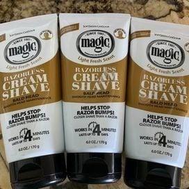 Razorless Shave Cream