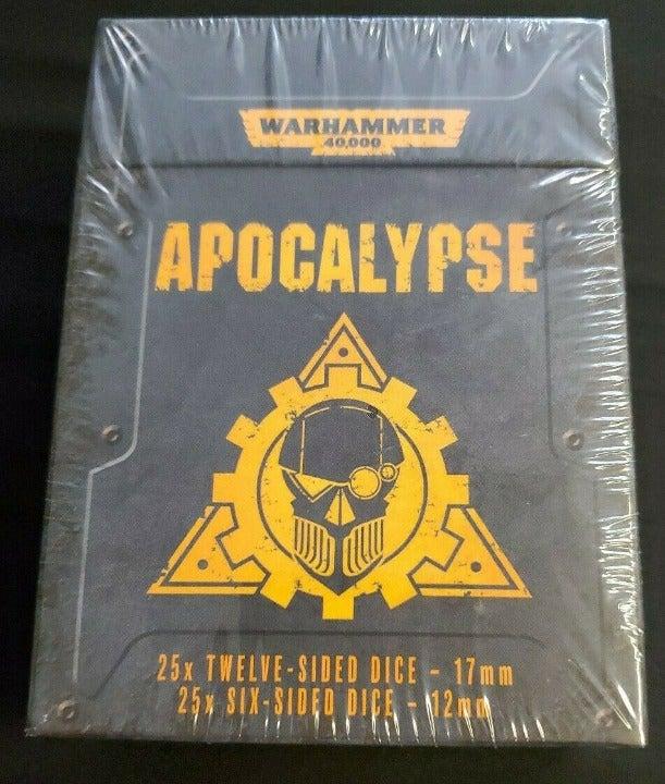 Warhammer 40k Apocalypse Dice: 25x 12-Si