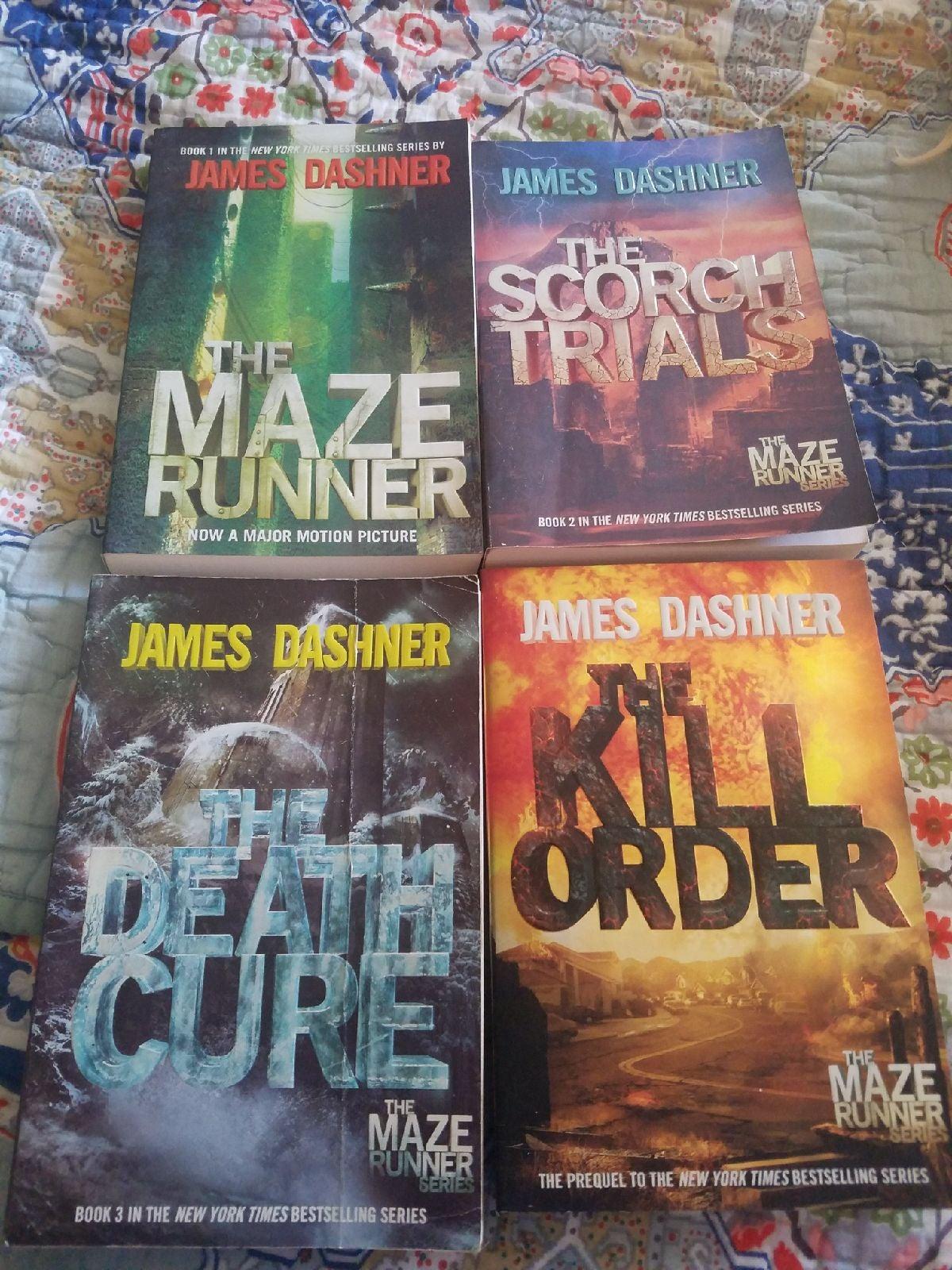 The Maze Runner Book Series