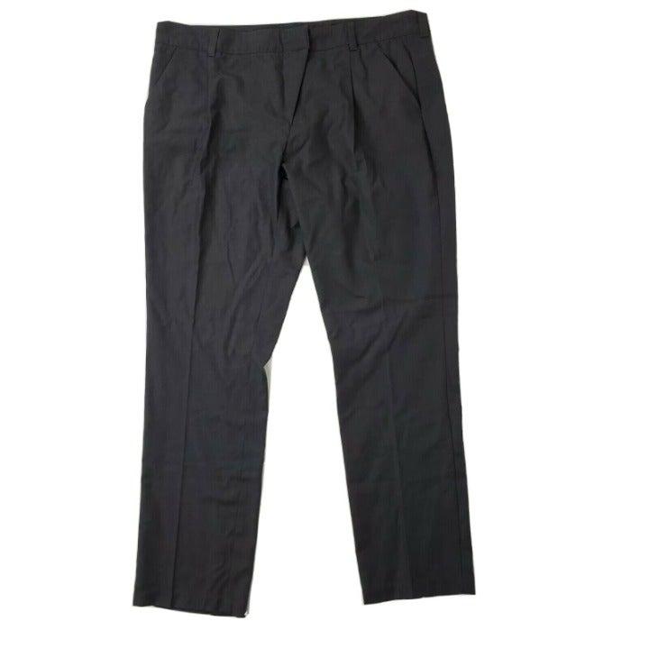 NWOT GARNET HILL Gray Pants Size 16