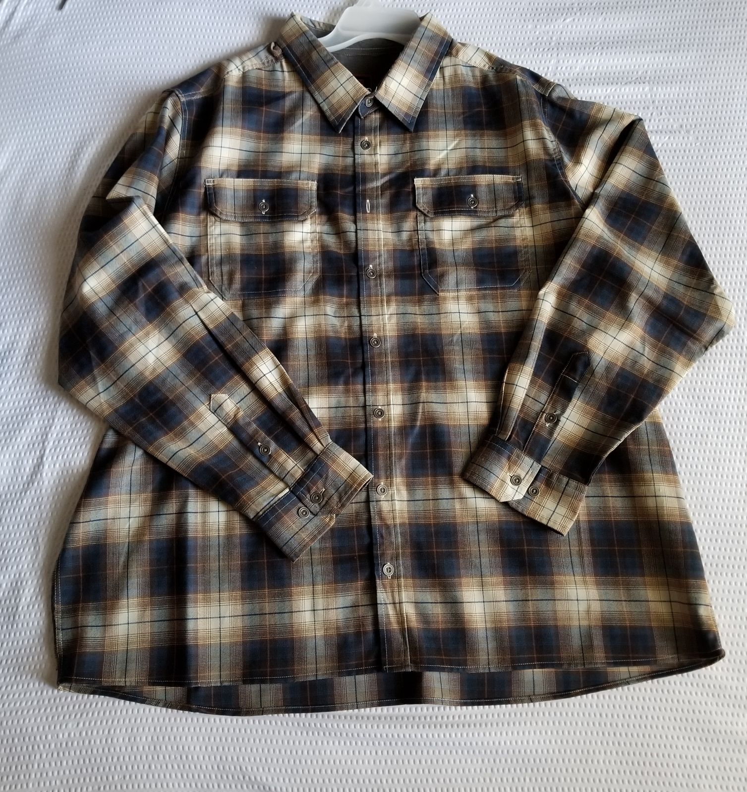 Men's Swiss Tech Flannel Long sleeve