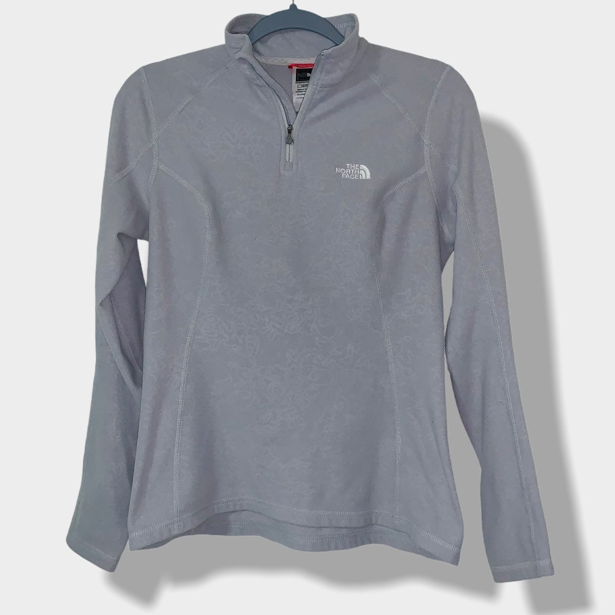 North Face womens quarter zip pullover