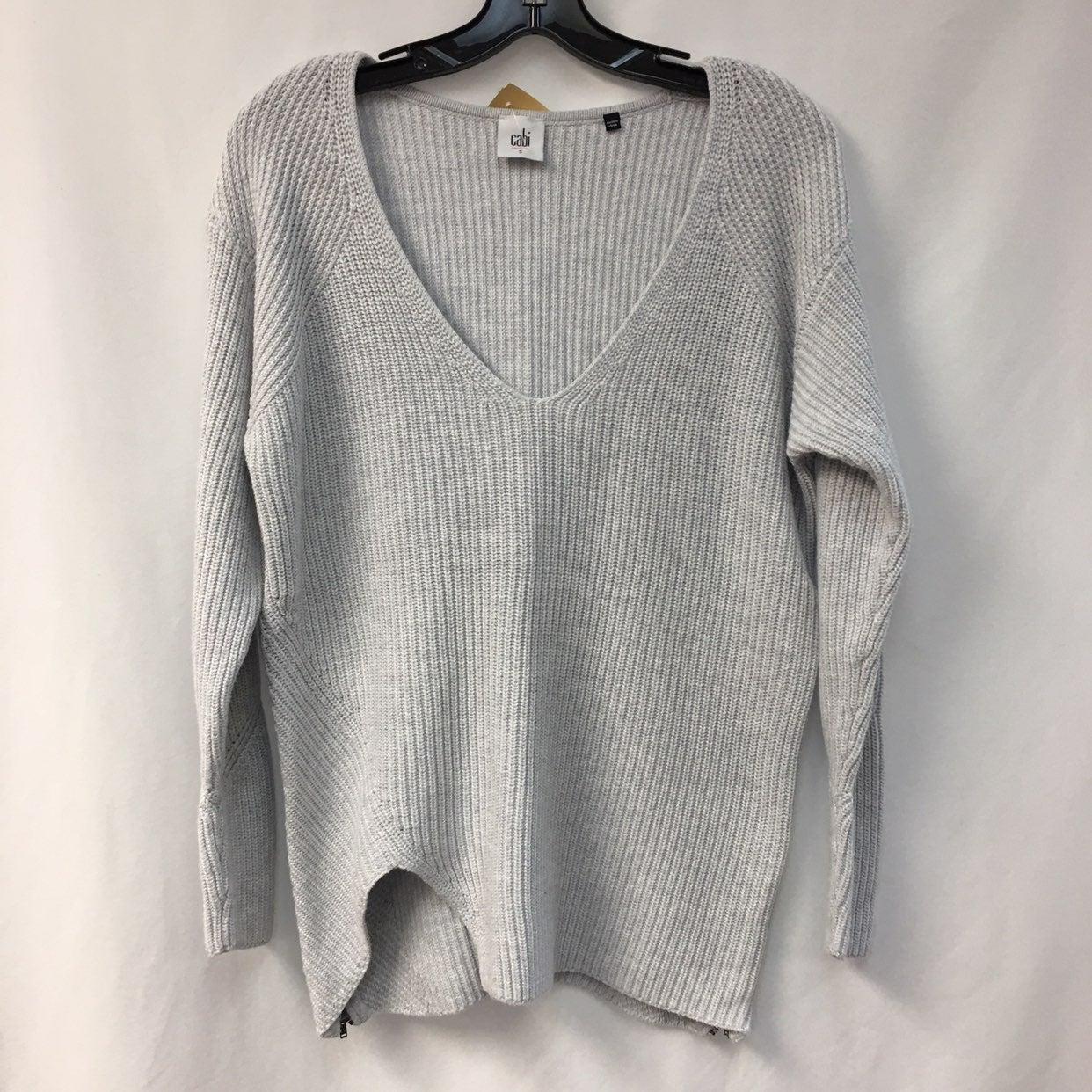 Cabi gray sweater size small