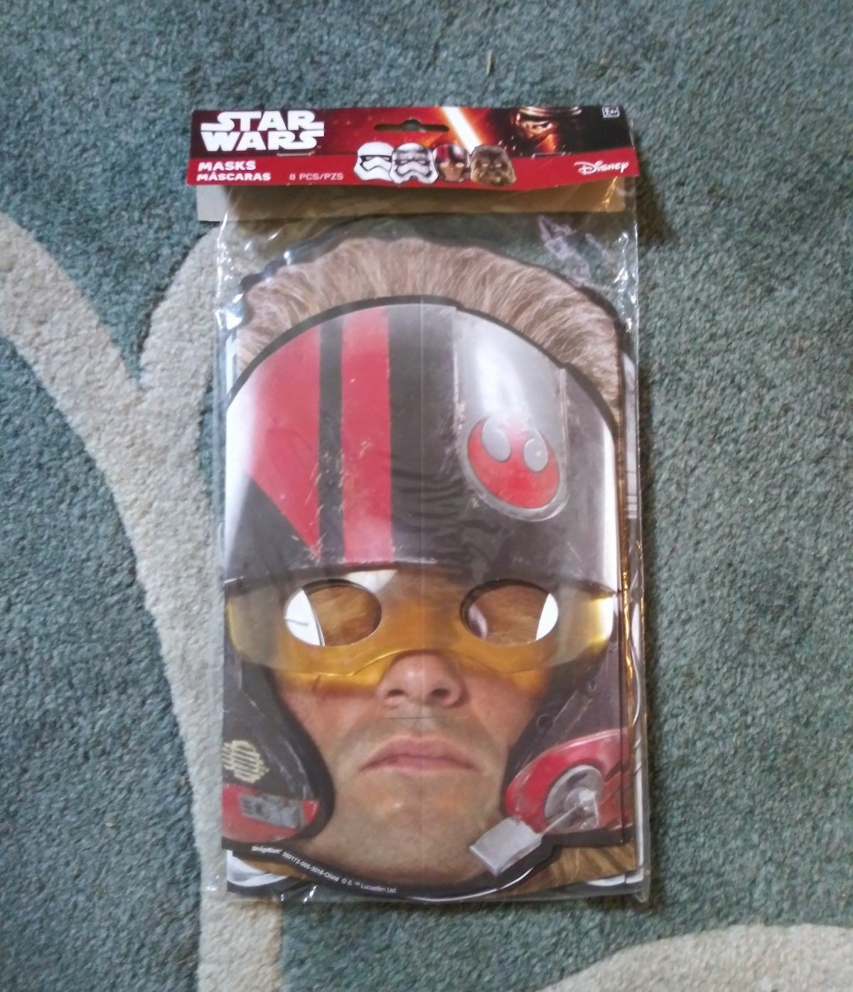 Star Wars Party Masks (8)