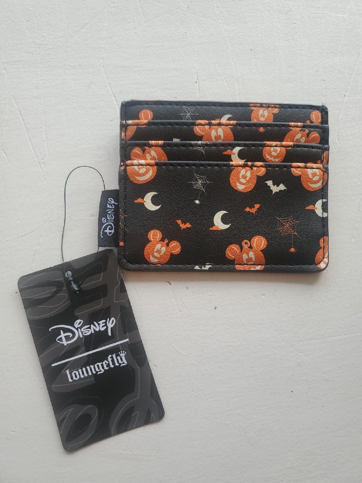 Loungefly Halloween pumpkin cardholder