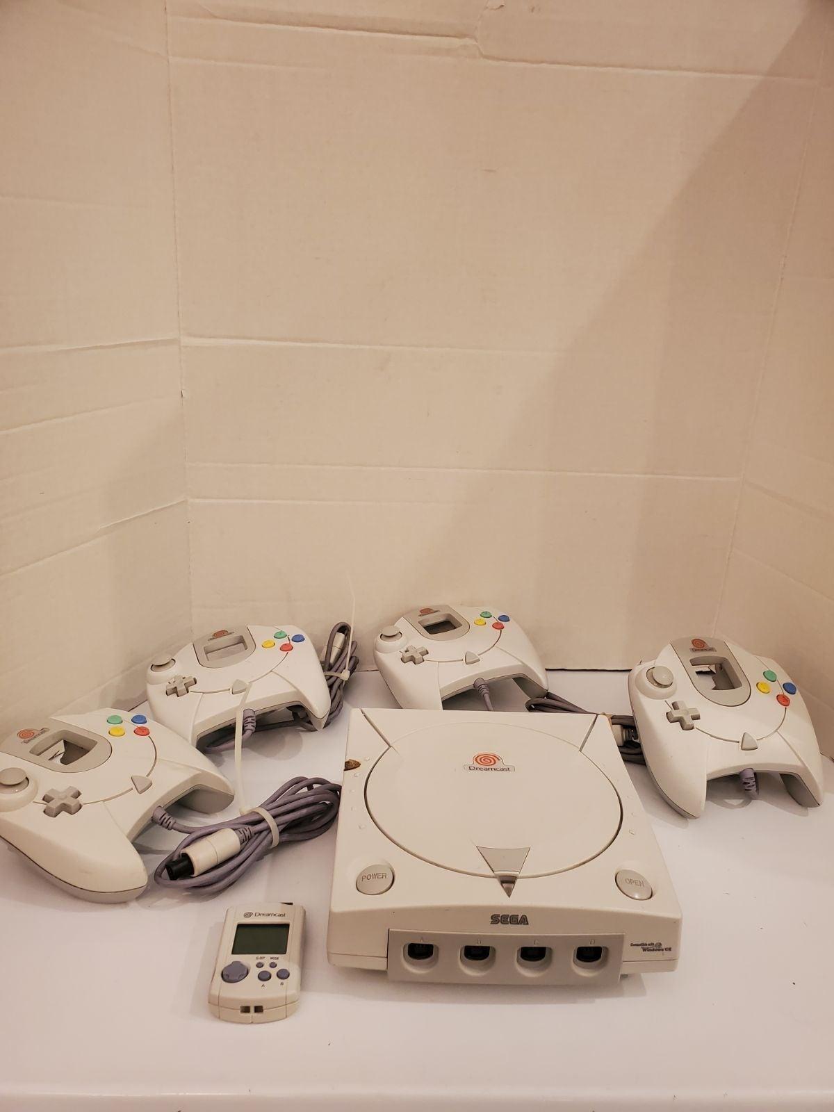 Sega dreamcast console Lot