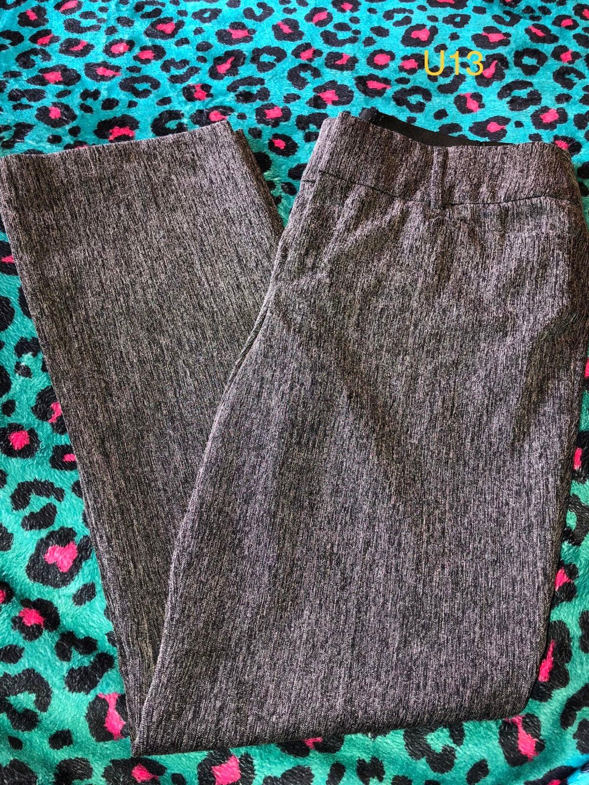 Apt. 9 Gray Dress Pants size 10