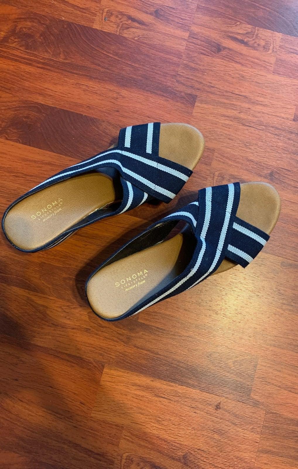 Sonoma wedge sandal's