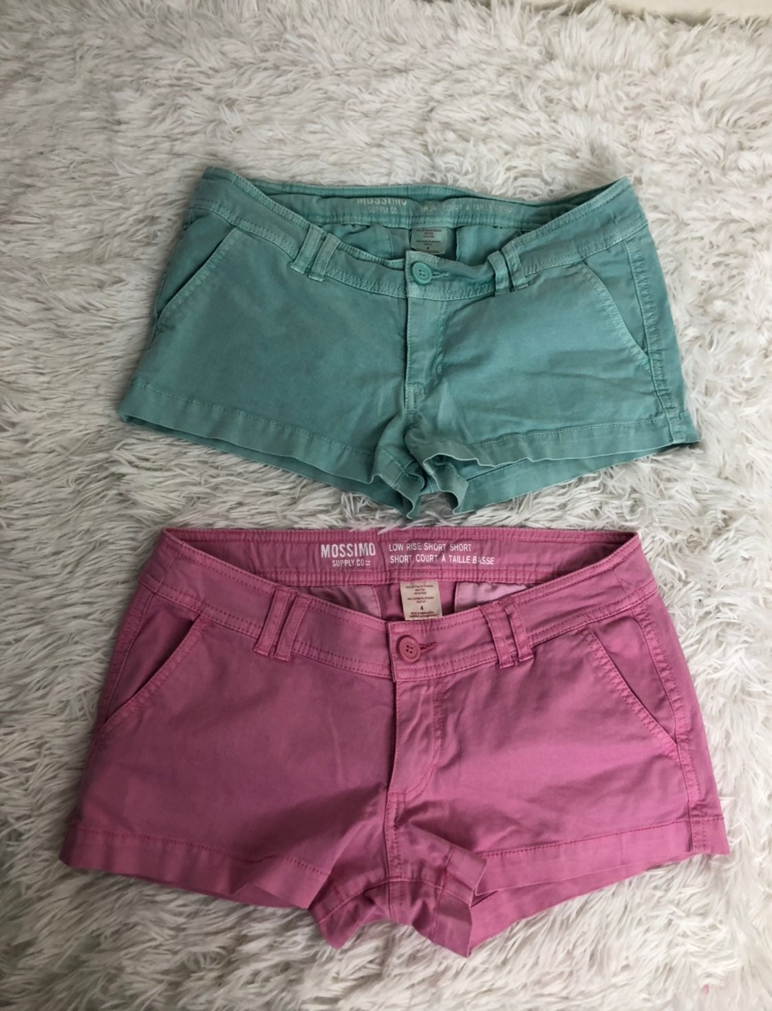 Mossimo Lot 2 Low Rise Short Jean Shorts