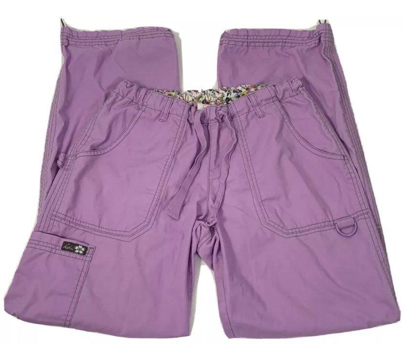 Koi Lindsey Sm Lilac Purple Scrub Pants
