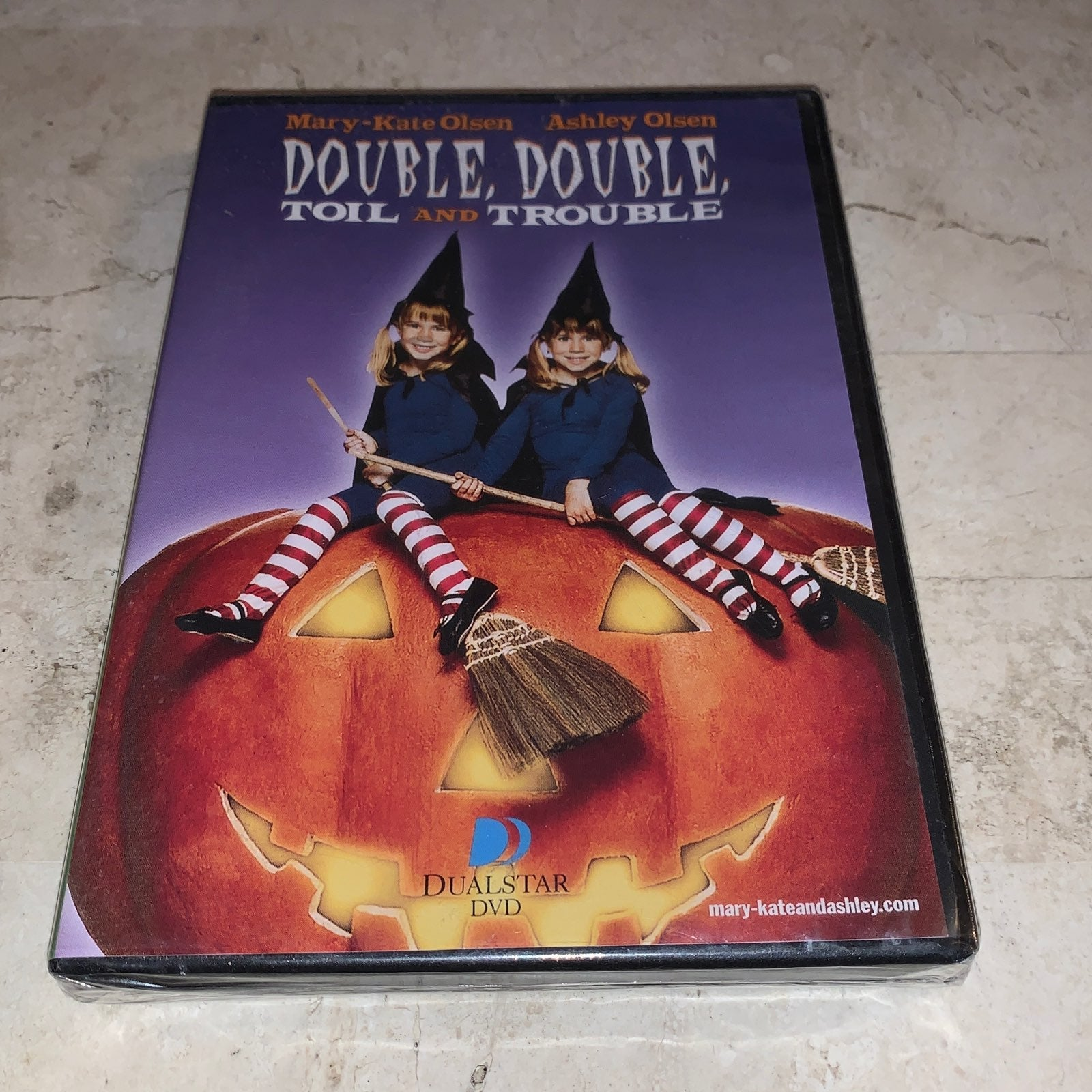 Double Double Toil and Trouble DVD New